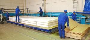 Производство СИП-панелей в Удмуртии на заводе компании Альфард